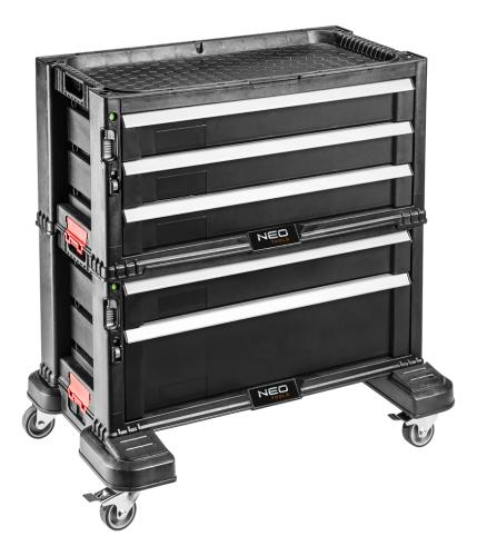 Wózek narzędziowy NEO 5 szuflad (84-226)