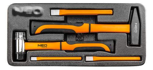 NEO Zestaw narzędzi młotki i wybijaki 5szt. (84-242)