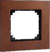 Schneider Electric Ramka Merten M-Elegance Drewno pojedyncza wiśnia (MTN4051-3472)