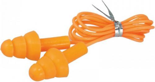 Dedra Wkładki przeciwhałasowe silikonowe ze sznurkiem 29db (BH1033)