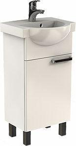 Zestaw szafka z umywalką Koło 40,5cm biały (L79003000)