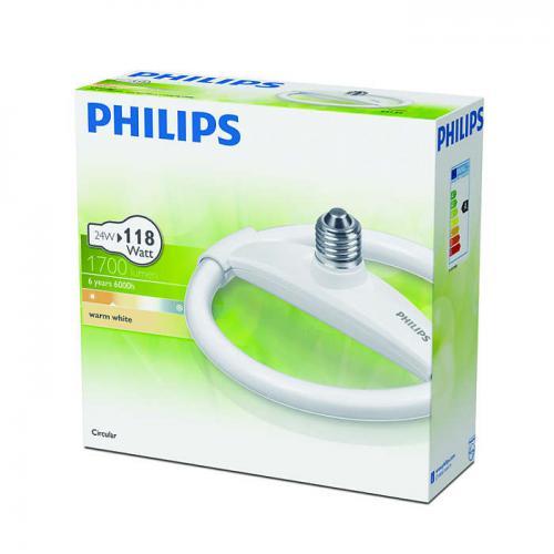 Philips Świetlówka Circular ES 24W WW 1CT/6