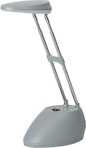 Lampka biurkowa Kanlux Nala LED szara (15077)