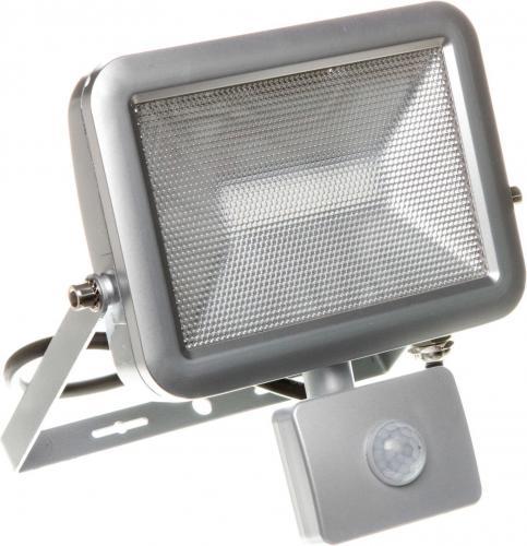 Naświetlacz Orno Naświetlacz LED Smil 20W 230V z czujnikiem ruchu srebrny (OR-NL-380GLR5)