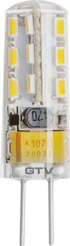 GTV Żarówka LED SMD Silikon G4 12V 2W (LD-G4SI15-32)