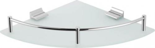 Stella Półka narożna Classic 23cm chrom (16.101)