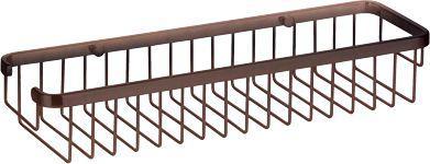 Koszyk prysznicowy Omnires Uni prostokątny miedź antyczna (UN8963A)