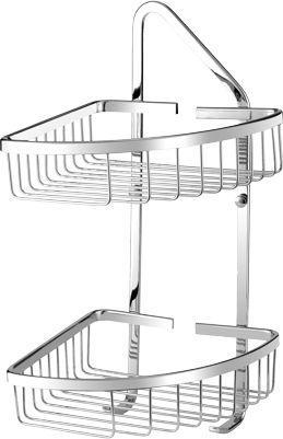 Koszyk prysznicowy Omnires Uni narożny chrom (UN3510)