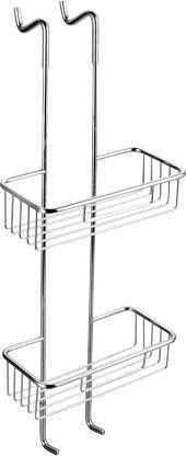 Koszyk prysznicowy Omnires Uni prostokątny chrom (UN3530)