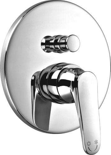 Bateria wannowa podtynkowa Omnires Art Deco chrom (AD5135)