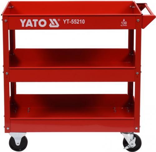 Wózek narzędziowy Yato Wózek serwisowy 3-szuflada 795x790x370 na kółkach (YT-55210)