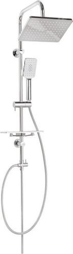 Zestaw prysznicowy Invena Nyks z deszczownicą chrom (AU-32-001)