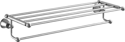 Omnires Półka na ręczniki Art Line 65cm chrom (AL53920)