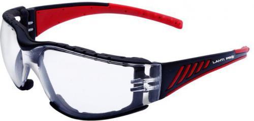 Lahti Pro Okulary ochronne przezroczyste z pianką (L1500500)