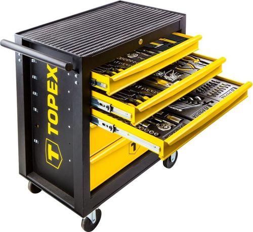 Wózek narzędziowy Topex Szafka narzędziowa z akcesoriami (79R502)