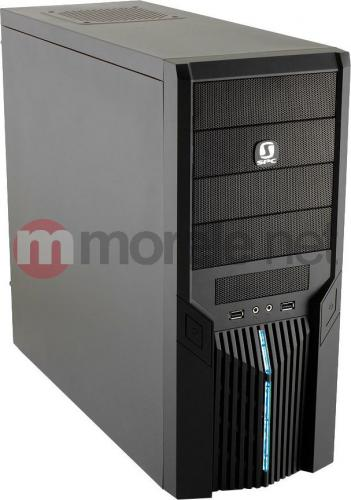 Obudowa SilentiumPC Brutus 410 Pure Black AT X/SSD (BT-410)
