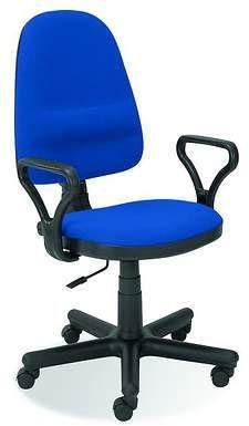 Halmar BRAVO krzesło biurowe C-6  niebieski