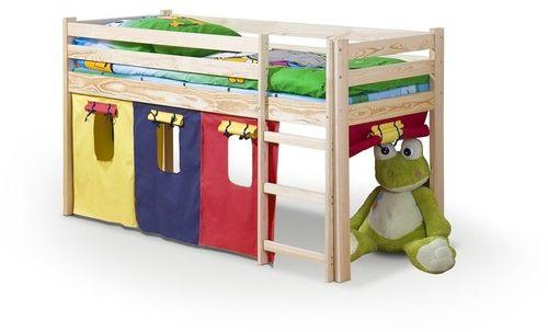 Halmar NEO - łóżko piętrowe z materacem - sosna