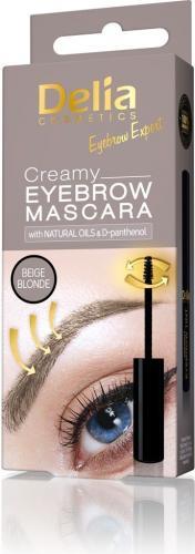 Delia Mascara do brwi Creamy Eyebrow Beige Blonde 4ml