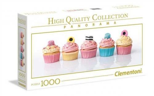 Clementoni Puzzle 1000el Panorama HQC Licorice Cupcakes