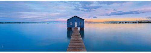Clementoni Puzzle 1000 elementółw. HQC - Panorama Blue Calm  (39439 CLEMENTONI)