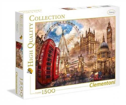 Clementoni Puzzle 1500el HQC Vintage London