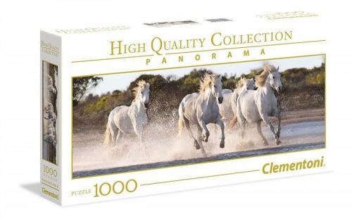 Clementoni Puzzle 1000el HQC Panorama. Running Horses