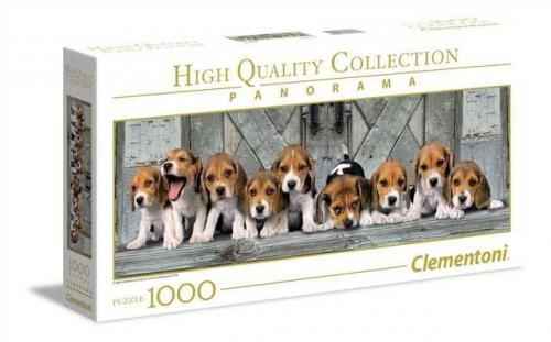 Clementoni Puzzle 1000el Panorama Beagles
