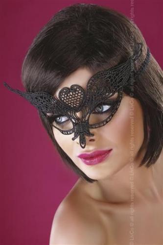 LivCo Corsetti Maska Kobieta Kot Model 10 czarna r. Uniwersalny