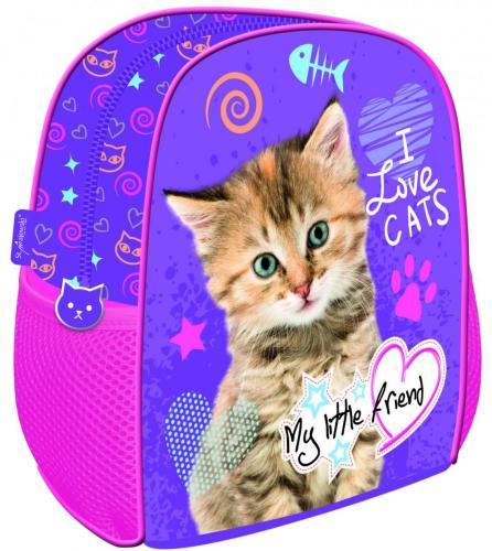 St. Majewski Plecak szkolno-wycieczkowy My Little Friend Kot (270655)