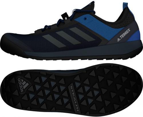 Adidas Buty męskie Terrex Swift Solo czarne r. 44 2/3 (CM7633)