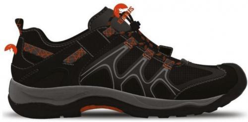 Elbrus Buty Niskie Calton Black/ Orange/ Mid Grey r. 46
