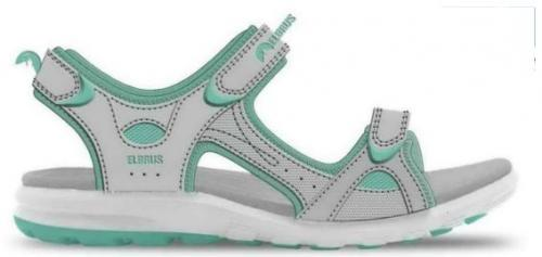 ELBRUS Sandały damskie  Alvira Wo's Light Grey/ Light Turquoise r. 37