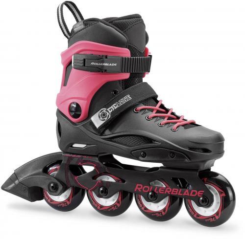 Rollerblade Łyżworolki dziecięce CYCLONE G czarno-różowe r. 38 (078517007Y9)