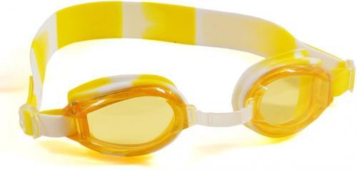 SMJ sport Okularki pływackie SMJ Sport G-300 Jr. żółto-białe