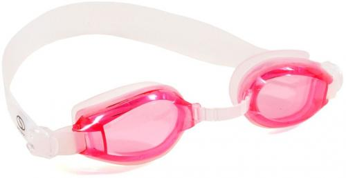 SMJ sport Okularki pływackie  G-300 Jr. różowo-przezroczyste