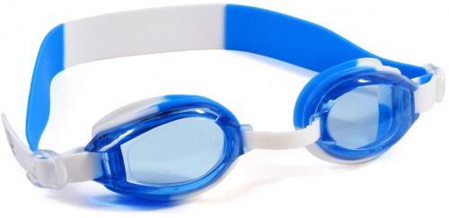 SMJ sport Okularki pływackie SMJ Sport G-300 Jr. niebiesko-białe
