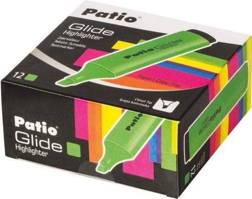 Patio textmarker glide zielony zakreślacz (58964)