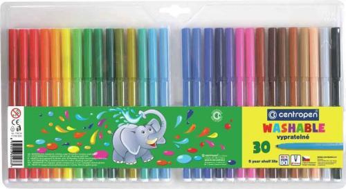 Centropen kolorowe flamastry 30 kolorów (7790/30)