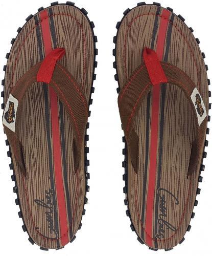 Gumbies  Japonki męskie Gumbies Islander Canvas Flip-Flops Men Woody r. 43