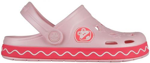 Coqui Klapki juniorskie FROGGY Candy Pink-new r. 26/27 (8801)