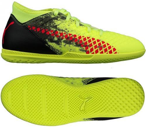 Puma Buty piłkarskie Future 18.4 IT JR żółte r. 38 (04337 01)