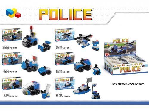 MEGA CREATIVE  Klocki Konstrukcyjne Police (22001)