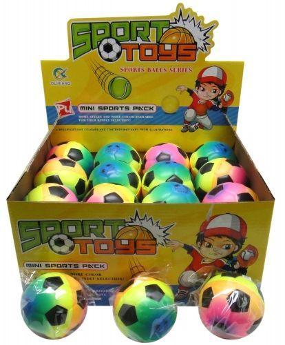 MEGA CREATIVE Piłka Miękka Tęcza (E3002)