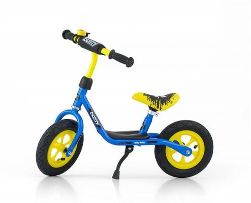 Milly Mally Rower biegowy Dusty 12'' niebiesko-żółty (GXP-628620)