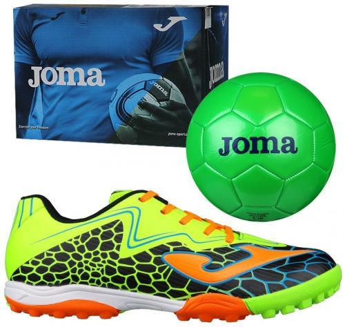 Joma sport Buty piłkarskie Super Copa JR 801 TF czarno-żółte r. 34 (SCJS.801.TF)