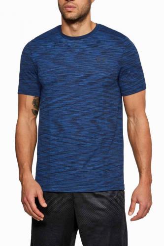 Under Armour Koszulka męska Threadborne Seamless T-Shirt Moroccan Blue r. S (1289596487)