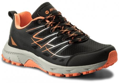 Hi-tec Buty męskie niskie Camit Black/ Dark Grey/ Orange r. 43