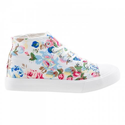 BEJO Buty juniorskie Talogen Jrg White/ Flower Print r. 31