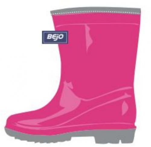 BEJO Kalosze juniorskie Mizzle Wellies Jr Fuchsia Purple/ Alloy r. 34